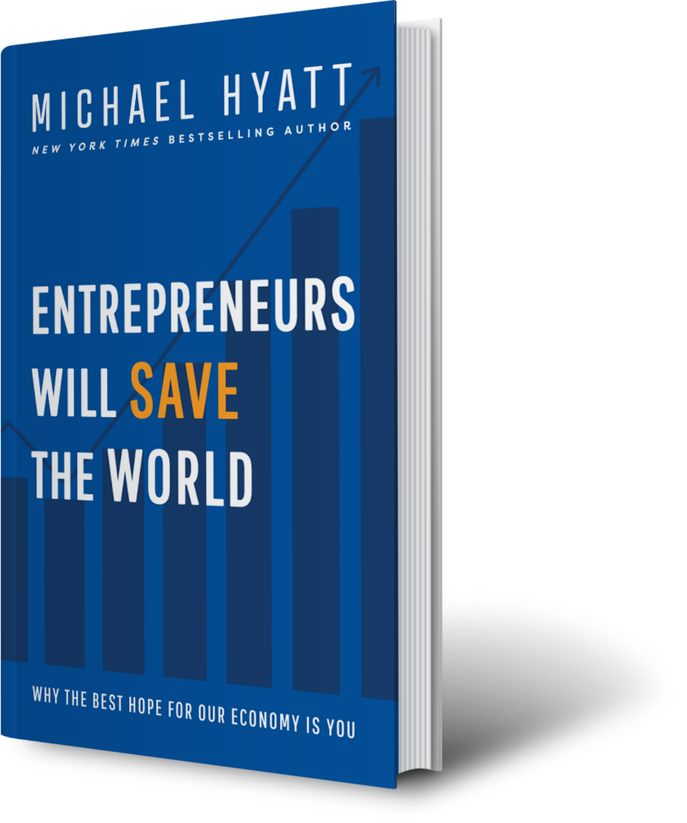 Entrepreneurs Will Save the World book cover